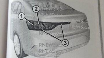 All-new Renault Fluence (Renault Megane sedan) leaked in owner's manual