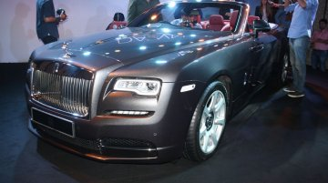 Rolls Royce Dawn launched in India at INR 6.25 crores [Updated]
