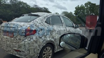 Tata Kite 5 compact sedan spotted testing near Pune
