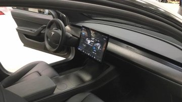 New images of Tesla Model 3's interior emerge