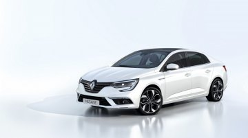 Renault Megane Sedan (all-new Fluence) revealed