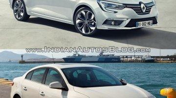 Renault Megane Sedan vs Renault Fluence - Old vs New