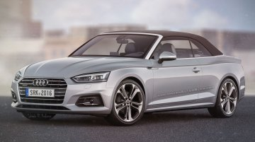 2017 Audi A5 Cabriolet - Rendering