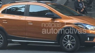 2017 Chevrolet Onix Activ leaked ahead of launch