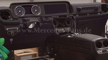 2017 Mercedes G-Class's interior leaked