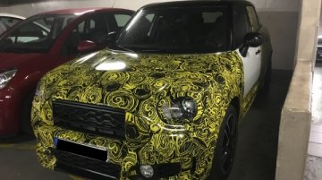 2017 Mini Countryman spied inside and out