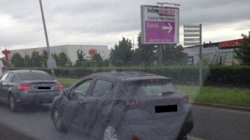 2017 Nissan Micra spied testing