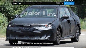 Next-gen Toyota Camry starts testing
