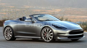 Next-gen Tesla Roadster - Rendering