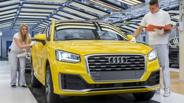 India-bound Audi Q2 enters production in Germany