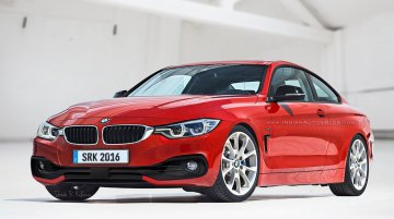 BMW 4 Series facelift - Rendering