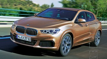 BMW X2 rendered ahead of Paris Motor Show debut