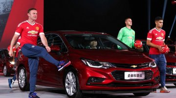 India-bound 2017 Chevrolet Cruze launched in China