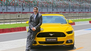 Ford Mustang launched in India at INR 65 lakhs
