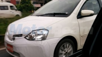 New Toyota Etios (facelift) spied ahead of launch this year