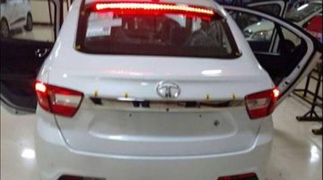 Production Tata Kite 5's exterior, interior photographed