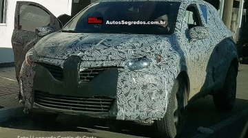 India-bound Renault Kaptur spied up-close in Brazil