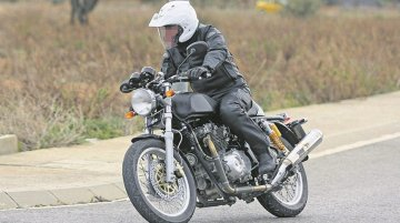 Royal Enfield Continental GT twin-cylinder variant spotted testing