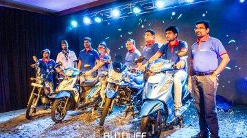 New TVS Victor, TVS XL 100, TVS Dazz, TVS Wego unveiled in Nepal