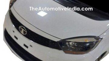 Tata Kite 5 compact sedan shows its production front-end, interior
