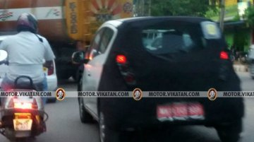 Next-gen Chevrolet Beat spied testing in India yet again