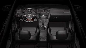 Interior of VW Golf facelift, VW Teramont, next-gen VW CC - Rendering
