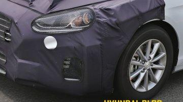 2018 Hyundai Sonata (facelift) starts testing