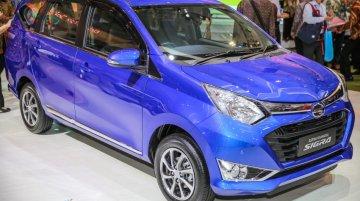 Daihatsu Sigra (Toyota Calya mini MPV's twin) revealed at GIIAS - In 12 Images