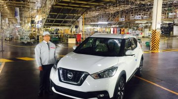 Production of India-bound Nissan Kicks starts in Mexico
