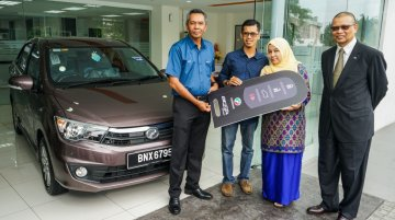 Perodua Bezza gets 25,000 bookings, 10,000th unit delivered - Report