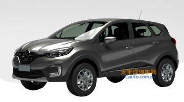 India-bound Renault Kaptur patented in China