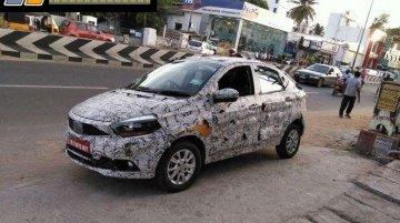 Tata Kite 5 compact sedan spied in Tamil Nadu