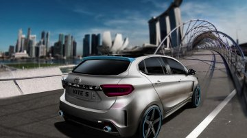 Tata Kite 5 rendered as a hot-hatch by IAB reader