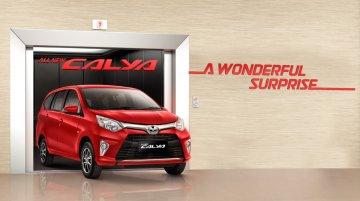Toyota Calya mini MPV detailed in videos