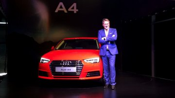2016 Audi A4 30 TFSI launched at INR 38.1 Lakhs