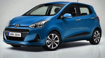 Hyundai Grand i10 facelift likely to get dashboard updates