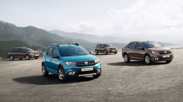 Dacia Sandero facelift, Dacia Logan facelift revealed ahead of Paris premiere