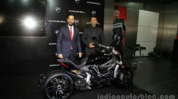 Ducati XDiavel launched in India at INR 15.87 lakhs