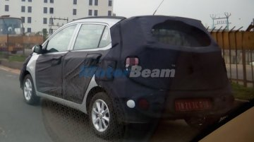 Hyundai Grand i10 facelift spied yet again