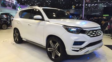 Next-gen SsangYong Rexton to be a Mahindra SUV in India - Report