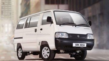 Maruti Suzuki Super Carry Van variant - Rendering