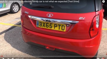 Tata Bolt EV prototype showcased in UK - Video