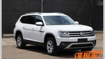 Exterior of the VW Teramont revealed in new spy shots