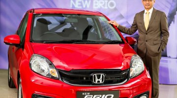 2016 Honda Brio (facelift) launched at INR 4.69 lakhs