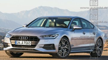 2017 Audi A7 rendered, to launch next year