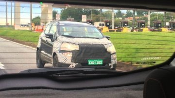 2017 Ford EcoSport spotted finishing its testing ahead of next month's premiere