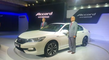Honda Accord Hybrid launched in India at INR 37 Lakhs