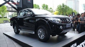 2017 Mitsubishi Triton launched in Thailand