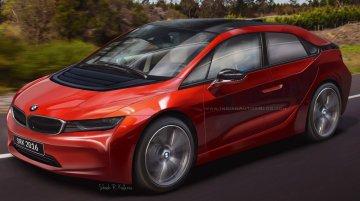 BMW i5 rendering based on patent leaks