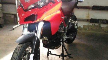 Ducati Multistrada 939 spied naked ahead of EICMA 2016 debut